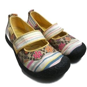 Keen 5.5 Harvest Mary Jane Flats Casual Shoes